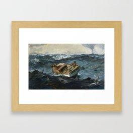 The Gulf Stream By Winslow Homer 1899 Framed Art Print