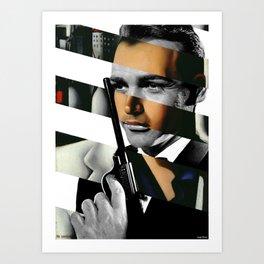 Tamara De Lempicka's Portrait of Count Vettor Marcello & Sean Connery in James Bond Art Print