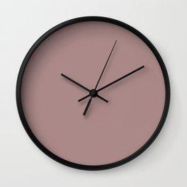Pharlap - Solid Color Wall Clock