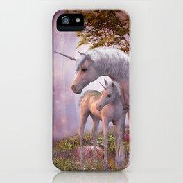 Enchanted Unicorns iPhone Case