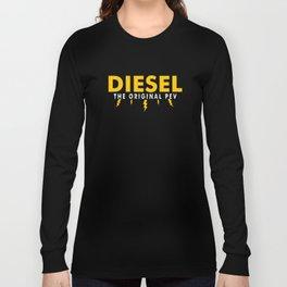 Funny Diesel Diesel Original PEV Plugin Electric Lightning Long Sleeve T-shirt