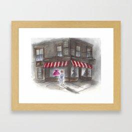 Window Shopper Framed Art Print