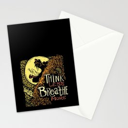 Lion's Breath Stationery Cards