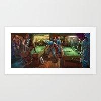 Super Bar Art Print