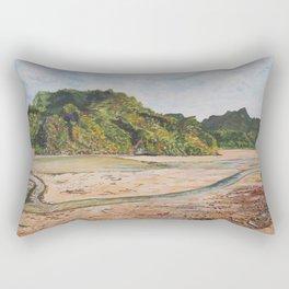 Low tide on Cat Ba Island, Vietnam Rectangular Pillow