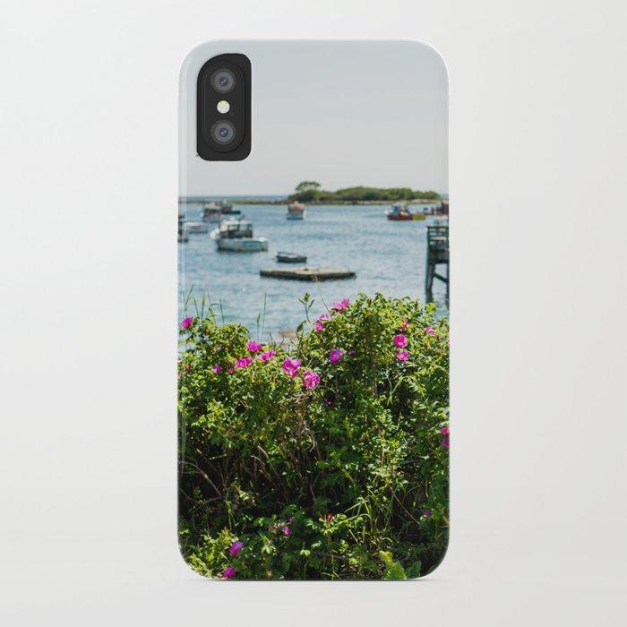 Rosa rugosa (Beach Rose) iPhone Case