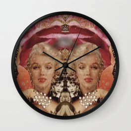 Marilyn Collage Wall Clock