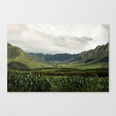 Waianae Valley Canvas Print