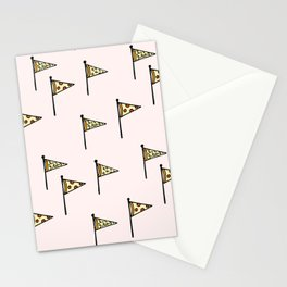 Pizza Pennant Stationery Cards