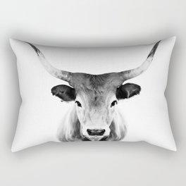 Honey - black and white Rectangular Pillow