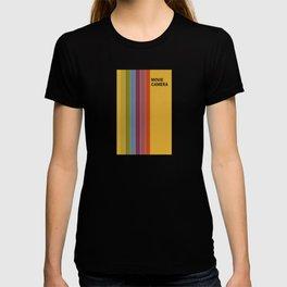 Retro Movie Camera Color Palette T-shirt