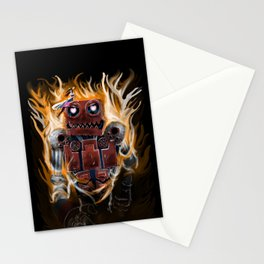 The Lady and The Robot Stationery Cards