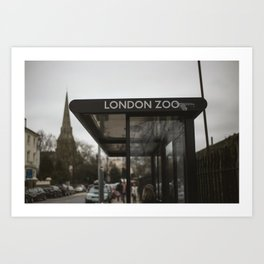LDN ZOO Art Print