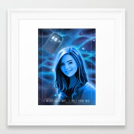 Doctor Who - Clara Oswald Framed Art Print