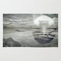 inception Area & Throw Rugs featuring Inception Landscape by monicamarcov