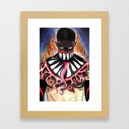 Finn Bálor - Body Paint NXT Take Over [R]ival Framed Art Print