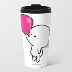 Mononoco with Bubble Gum  Metal Travel Mug