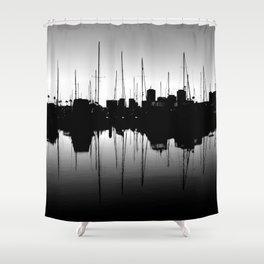 Marina Pulse Shower Curtain