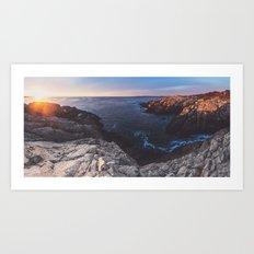 Panoramic Sunrise Art Print