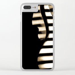 Feel that bass! Clear iPhone Case