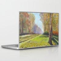 monet Laptop & iPad Skins featuring Monet Prave by KitaKita