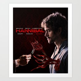"Hannibal - Will Graham ""Adapt Evolve Become"" Print Art Print"