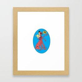 Beavis & Butthead/The Thing Framed Art Print