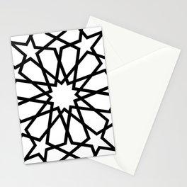 Islamic Geometric Line Art Stationery Cards