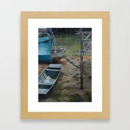 Mutual Help Framed Art Print