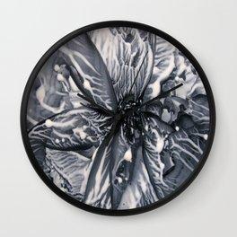 Liquid Lace Wall Clock