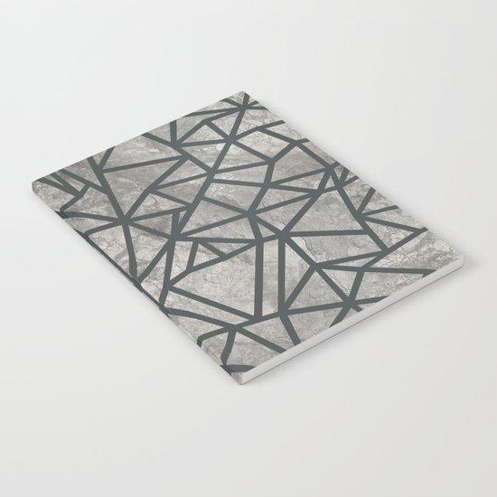Ab Marb Grey 2 Notebook