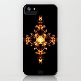 Fire Cross iPhone Case