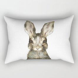 Little Rabbit Rectangular Pillow