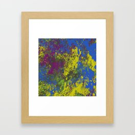 Clouded Judgement - Abstract Modern Painting Framed Art Print