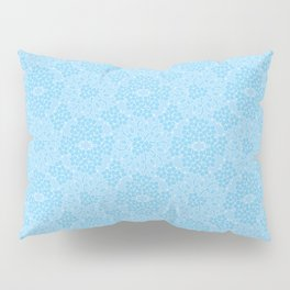 Bud and Flower Lace Pattern Pillow Sham