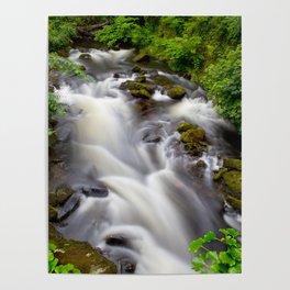 Welsh Falls Poster