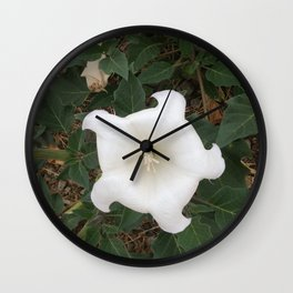 The Ghostly Lady Wall Clock