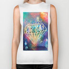 Let it Shine Biker Tank
