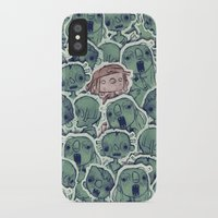 zombies iPhone & iPod Cases featuring Zombies by Burak Çınar