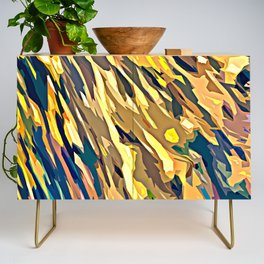 BOLD ABSTRACT Credenza