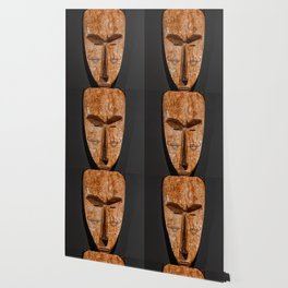 Cameroon fang ngil african wooden mask Wallpaper