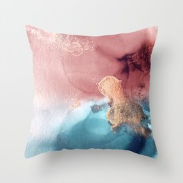 Midas Touch Throw Pillow