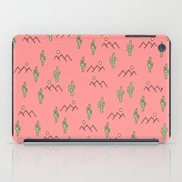 cacti iPad Cases featuring Cacti by Calepotts