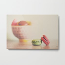 a macaron still life ... Metal Print