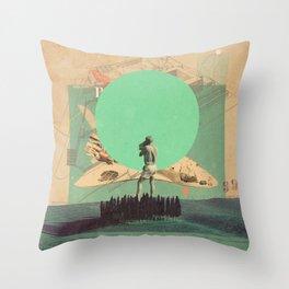 Hopes in Range Throw Pillow