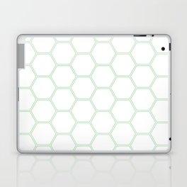 Honeycomb Mint Green #192 Laptop & iPad Skin