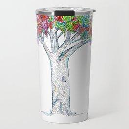 Rainbow Tree Huia Art Travel Mug
