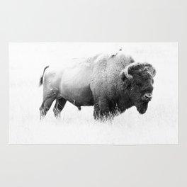 Bison - Monochrome Rug