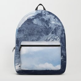Snowy Mountain Peaks Backpack