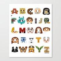 ABC3PO Canvas Print